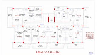 Central Apartments in Kargicak Short Distance to the Sea, Property Plans-8