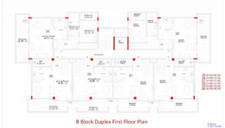 Central Apartments in Kargicak Short Distance to the Sea, Property Plans-9