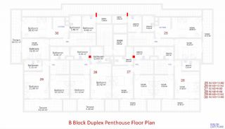 Central Apartments in Kargicak Short Distance to the Sea, Property Plans-10
