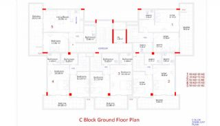 Central Apartments in Kargicak Short Distance to the Sea, Property Plans-12