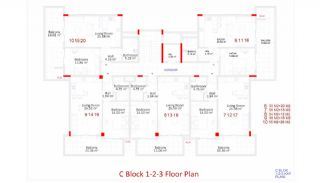 Central Apartments in Kargicak Short Distance to the Sea, Property Plans-13
