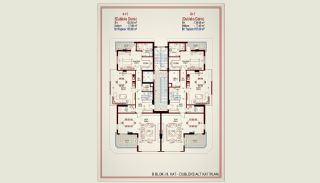Quality Apartments with Rich Infrastructure in Alanya, Property Plans-9