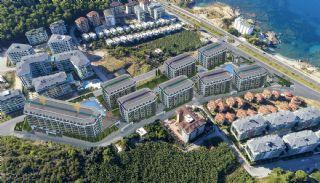 Neue Wohnungen in der Nähe der Küstenstraße in Kargicak, Alanya / Kargicak - video