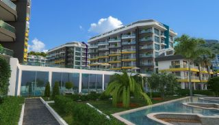 New Alanya Apartments Near the Coastal Road in Kargicak, Alanya / Kargicak - video