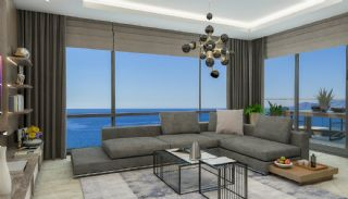 New Alanya Apartments Near the Coastal Road in Kargicak, Interior Photos-2