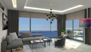 New Alanya Apartments Near the Coastal Road in Kargicak, Interior Photos-3