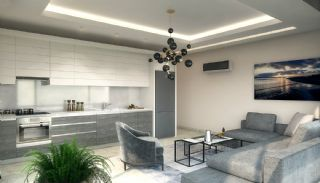 New Alanya Apartments Near the Coastal Road in Kargicak, Interior Photos-4