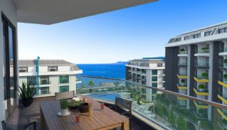 New Alanya Apartments Near the Coastal Road in Kargicak, Interior Photos-9