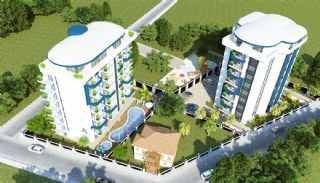 Central Alanya Apartments in the Midst of All Amenities, Alanya / Center