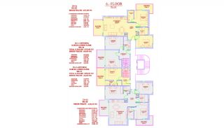 Central Alanya Apartments in the Midst of All Amenities, Property Plans-2