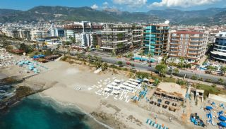 Seafront Apartments in the Luxury Complex of Alanya, Alanya / Oba - video