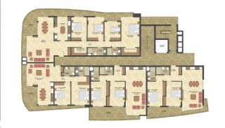 Seafront Apartments in the Luxury Complex of Alanya, Property Plans-2