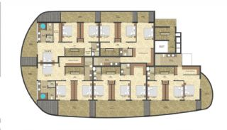 Seafront Apartments in the Luxury Complex of Alanya, Property Plans-4