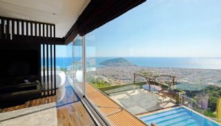 Ultra-Lux Furnished Villa with Infinity Pool in Alanya, Interior Photos-13
