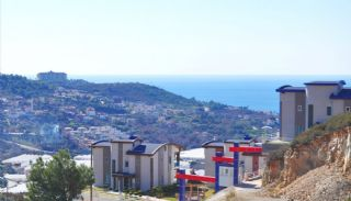 Panoramautsikt Över Havet och Borgen Villa i Alanya Kargicak, Alanya / Kargicak - video