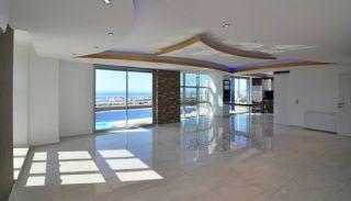 Panoramautsikt Över Havet och Borgen Villa i Alanya Kargicak, Interiör bilder-1