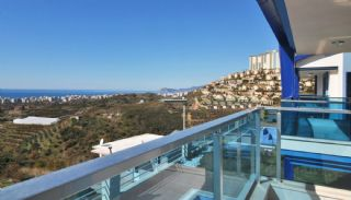 Panoramic Sea and Castle Views Villa in Alanya Kargicak, Interior Photos-21