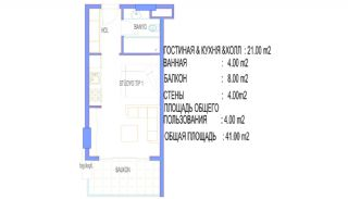 Alanya Apartments Walking Distance to All Amenities, Property Plans-1