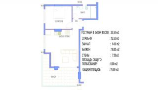 Alanya Apartments Walking Distance to All Amenities, Property Plans-2