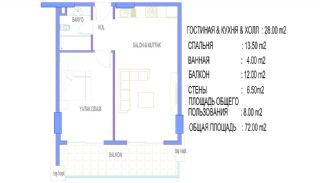 Alanya Apartments Walking Distance to All Amenities, Property Plans-3
