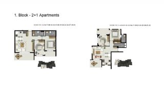 Advantageous Apartments Close to the Sea in Alanya, Property Plans-1