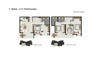 Advantageous Apartments Close to the Sea in Alanya, Property Plans-3