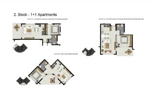 Advantageous Apartments Close to the Sea in Alanya, Property Plans-4