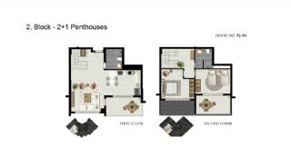 Advantageous Apartments Close to the Sea in Alanya, Property Plans-6