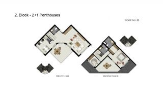 Advantageous Apartments Close to the Sea in Alanya, Property Plans-7