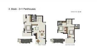 Advantageous Apartments Close to the Sea in Alanya, Property Plans-9