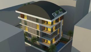 Modern Apartments 150 mt to Cleopatra Beach in Alanya, Alanya / Center - video