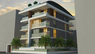 Moderna Lägenheter 150 meter till Cleopatra Stranden i Alanya, Alanya / Centrum