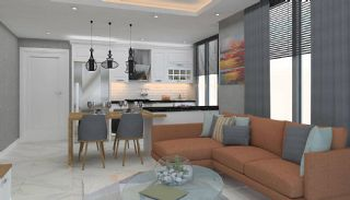 Modern Apartments 150 mt to Cleopatra Beach in Alanya, Interior Photos-1