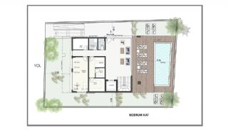 Modern Apartments 150 mt to Cleopatra Beach in Alanya, Property Plans-1