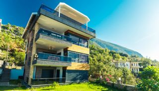 Glorious Sea and Castle View Triplex Villa in Alanya, Alanya / Kestel - video