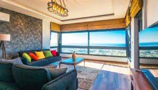 Glorious Sea and Castle View Triplex Villa in Alanya, Interior Photos-6