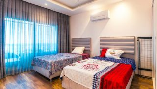 Glorious Sea and Castle View Triplex Villa in Alanya, Interior Photos-11