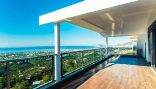 Glorious Sea and Castle View Triplex Villa in Alanya, Interior Photos-22