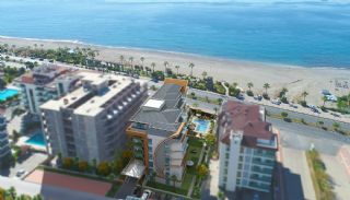 Seafront Apartments in the Boutique Complex in Alanya, Alanya / Kestel - video