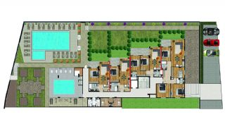 Seafront Apartments in the Boutique Complex in Alanya, Property Plans-2