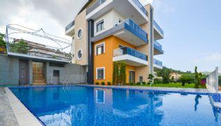Appartements en Duplex à Alanya avec Vue sur Mer, Alanya / Kargicak