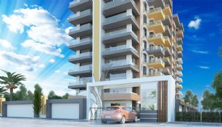 Brand New Luxury Flats at the First Sea Line in Alanya, Alanya / Mahmutlar - video