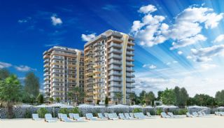Brand New Luxury Flats at the First Sea Line in Alanya, Alanya / Mahmutlar
