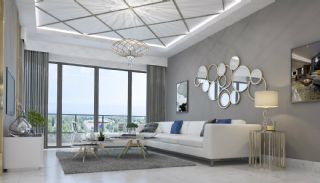 Brand New Luxury Flats at the First Sea Line in Alanya, Interior Photos-1
