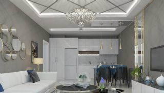 Brand New Luxury Flats at the First Sea Line in Alanya, Interior Photos-3