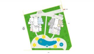 Seafront Alanya Flats with Private Access to the Beach, Property Plans-5