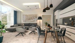 Well-Located Properties in Alanya Kargicak by the Seaside, Interior Photos-2