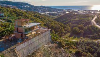 Uniquely Designed Private Villa in Alanya Kargicak, Construction Photos-1