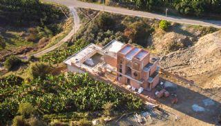 Uniquely Designed Private Villa in Alanya Kargicak, Construction Photos-4
