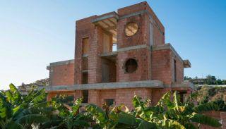 Uniquely Designed Private Villa in Alanya Kargicak, Construction Photos-6